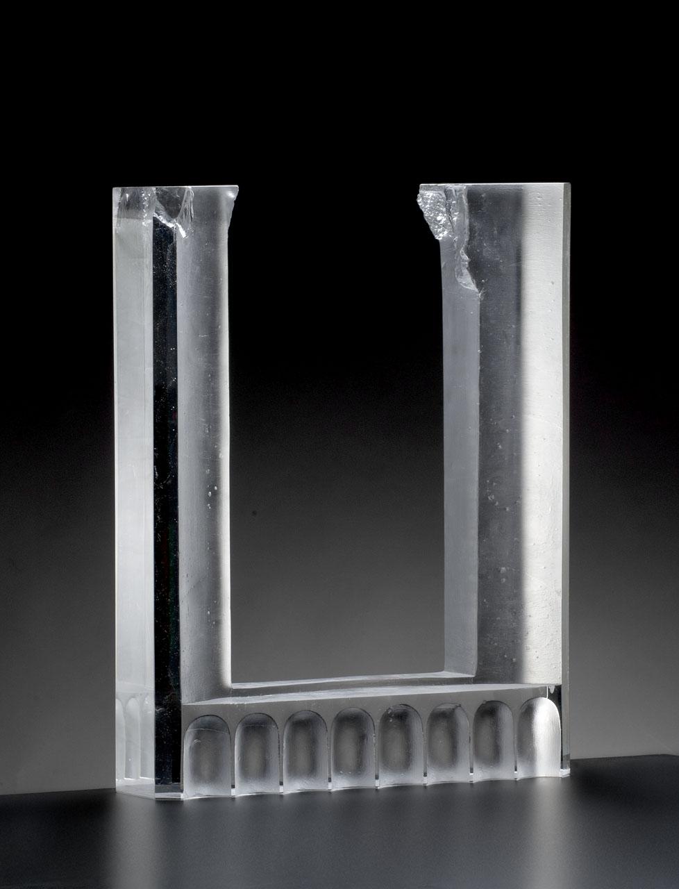 Okno-73x58x13cm-melted-glass-Bohumil-Elias-jr